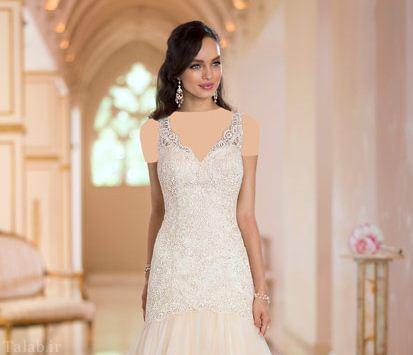 مدل های بسیار جدید و شیک لباس عروس مجلل