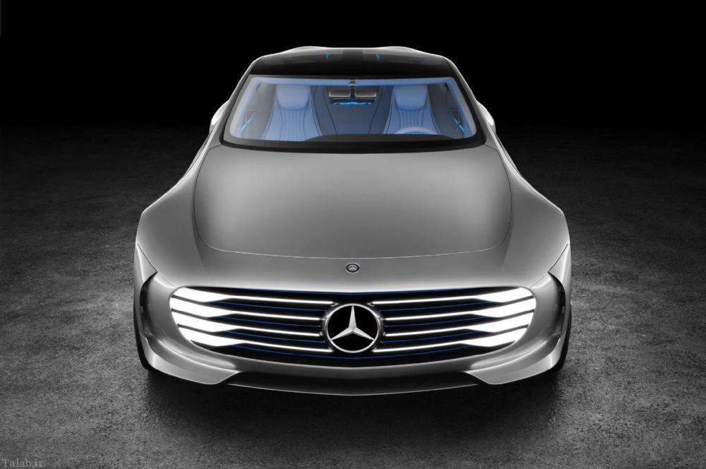 خودروی بی نظیر و مدرن بنز در آینده + عکس