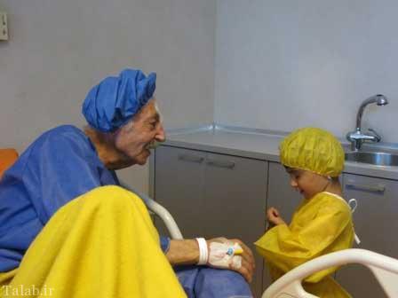 تصاویری از عمل جمشید مشایخی توسط وزیر بهداشت