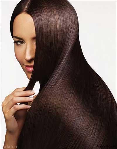 آموزش صاف کردن و لخت کردن مو در منزل