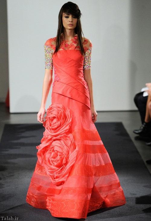 مدل های شیک لباس نامزدی به سبک پرنسس ها