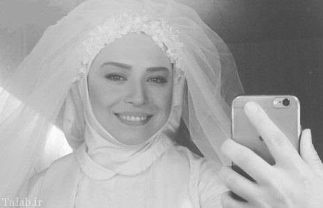 سوتی کنایه دار مهراوه شریفی نیا در لباس عروسی
