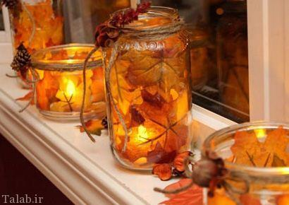 دکوراسیون خانه گرم برای فصل پاییز