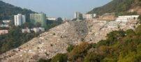 قبرستانی جالب در تپه پوکفولام هنگ کنگ