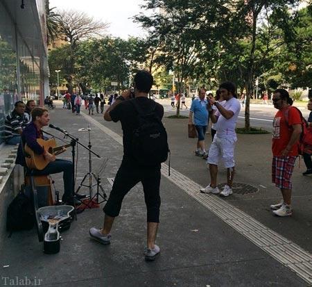 تصاویری از بازیگران ایران در کشور برزیل