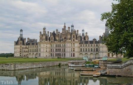 تصاویر و تاریخچه قلعه شامبوغ در فرانسه