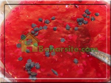 طرز تهیه ژله هندوانه ای ویژه شب یلدا (تصویری)