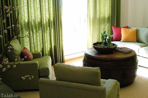 دکوری آرامش بخش و زیبا در منزل