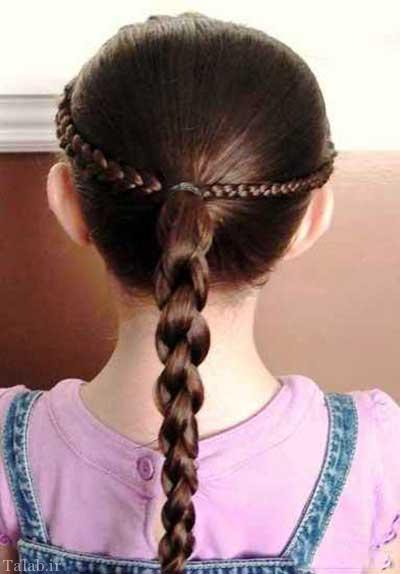 مدل های زیبای مو مخصوص دختربچه ها