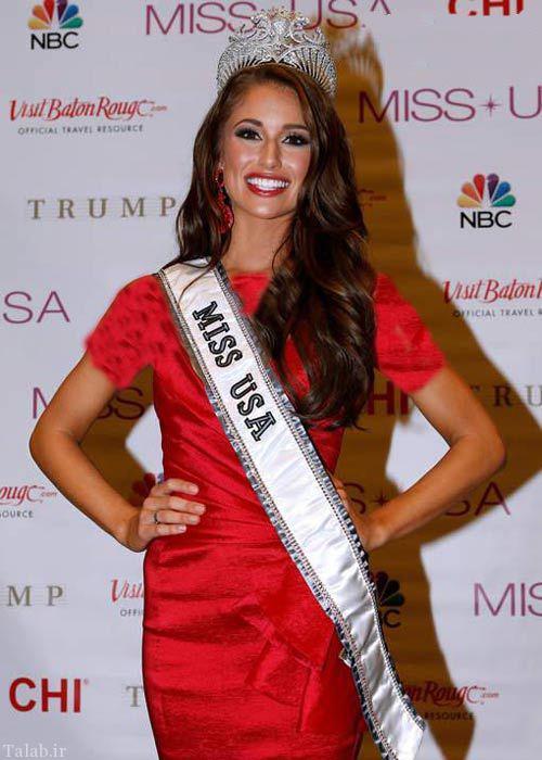 انتخاب دختر سال 2020 در امریکا (عکس)