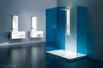 نکاتی در مورد استفاده از رنگ های سرد در حمام
