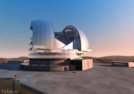 ساخت بزرگترین تلسکوپ جهان