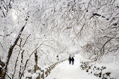 اس ام اس جدید و زیبای روزهای برفی