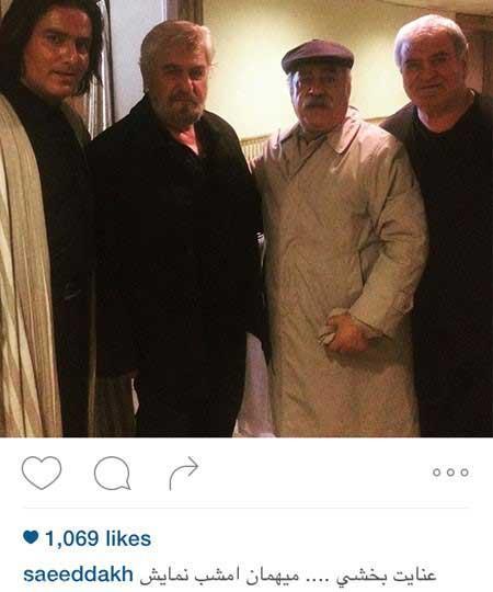 عکس های جدید و جذاب بازیگران در اینستاگرام