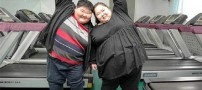زن و شوهری 400 کیلویی که قصد لاغری دارند (عکس)