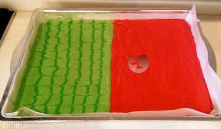 رولت هندوانه ای، یک دسر ویژه برای شب یلدا