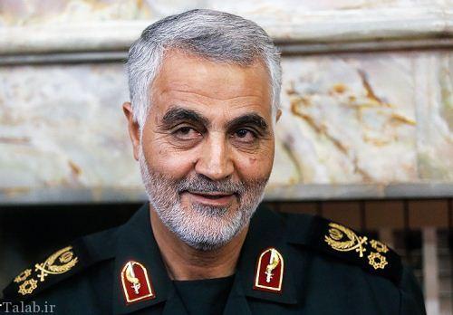 آمادگی سردار سلیمانی برای مقابله با تروریسم (عکس)
