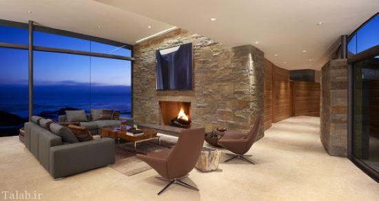 طراحی دکوراسیون خانه با سنگ های قیمتی