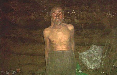مردی که پس از شکست عشقی 50 سال غارنشین شد (عکس)