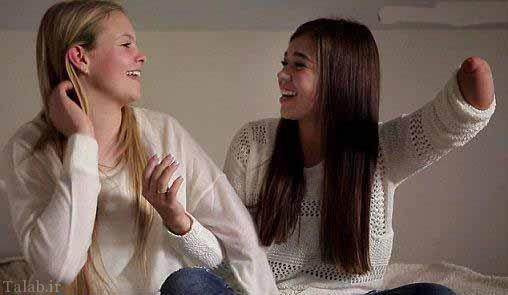 ماجرای جالب دو دختر که باهم دوست شدند
