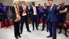 حضور جنجالی ملکه هلند در رختکن نارنجی پوشان + تصاویر