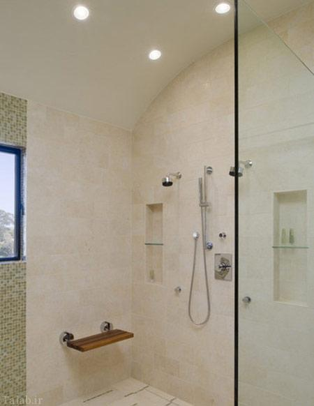 ایده های مدرن برای دکوراسیون حمام و سرویس بهداشتی