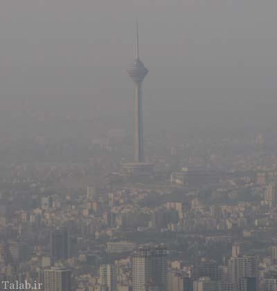 بستری شدن گزارشگر ورزشی به خاطر آلودگی هوا (عکس)