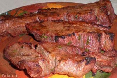 بهترین روش های پختن گوشت قرمز
