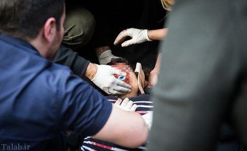 جان دادن دختر ایرانی در 20 متری بیمارستان (عکس 18+)