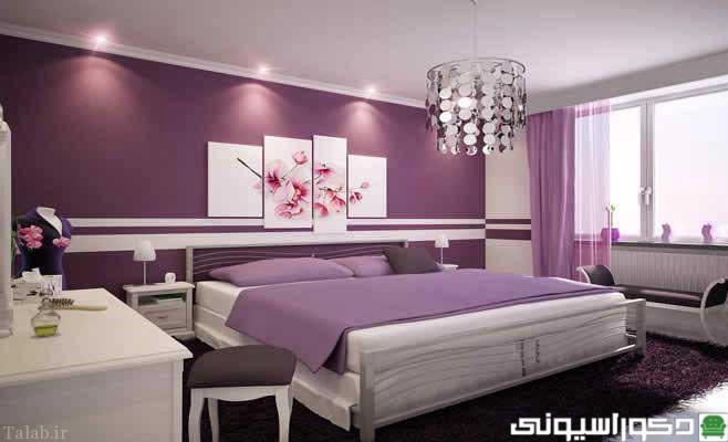 مدل های دکوراسیون اتاق خواب جدید و زیبا 2016