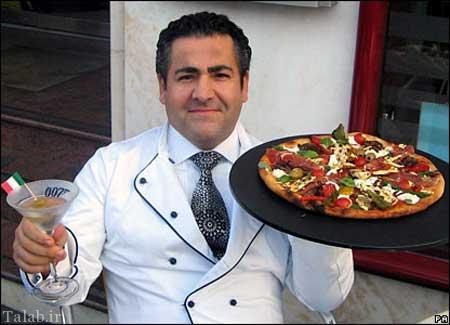 پیتزای خوشمزه و گرانقیمت 9 میلیونی (عکس)