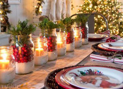تزیینات زیبای خانه با الهام از کریسمس