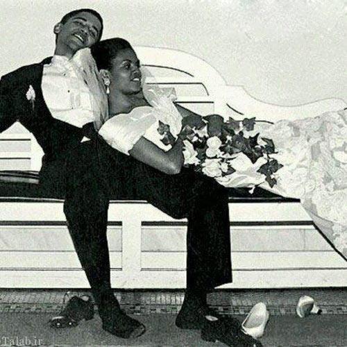 مراسم عروسی اوباما و پوتین و همسرانشان (عکس)