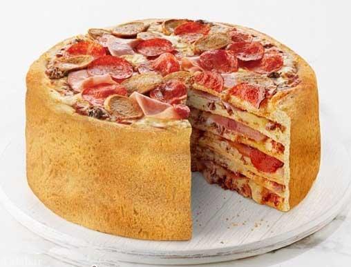 تا به حال پیتزا 5 طبقه خورده اید؟