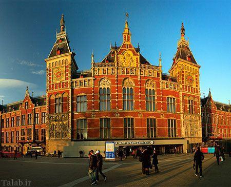 شهر زیبا و دیدنی آمستردام هلند + تصاویر