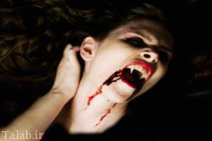 زوج وحشتناک جالب خون آشام (عکس)