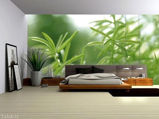 طراحی دکوراسیون منزل با رنگ سبز