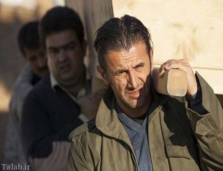 صدمه دیدن امین حیایی در لاهیجان (عکس)