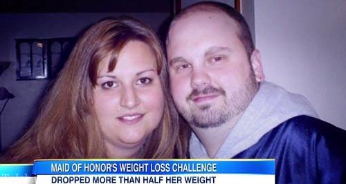 این خانم وزنش را 70 کیلو کم کرد + عکس