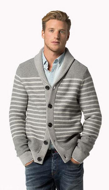 مدل های شیک زمستانی بافت مردانه برند تامی هیلفیگر