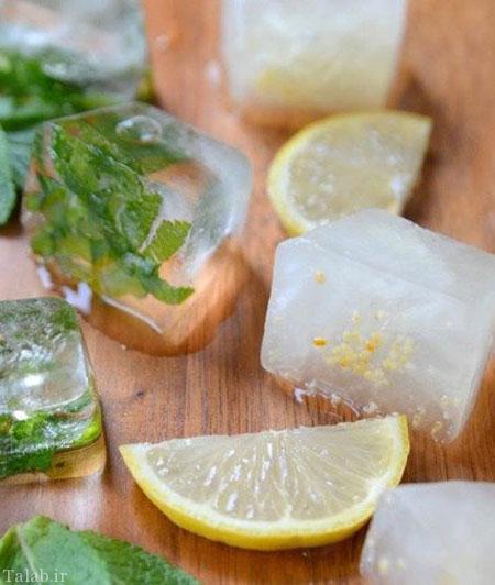 تزئین یخ برای مهمانی ها در تابستان