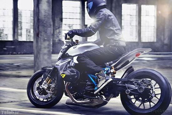 شرکت BMW طرح موتور سیکلت جدیدش را به نمایش گذاشت