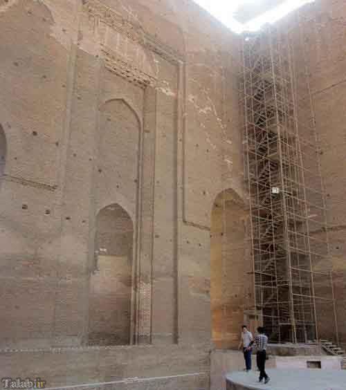 بلندترین طاق آجری جهان در تبریز (ارگ تبریز)