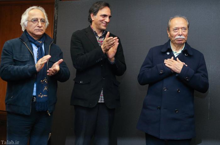 """مراسم تجلیل از """"بزرگ آقا"""" با حضور هنرمندان و ورزشکاران (عکس)"""
