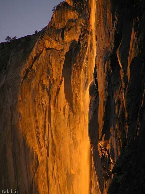 تصاویری از آبشار طلایی
