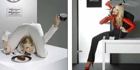 این زن با انعطاف پذیر ترین بدن دنیا + عکس