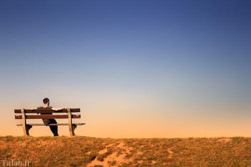 اس ام اس فاز تنهایی و غمگین پاییزی