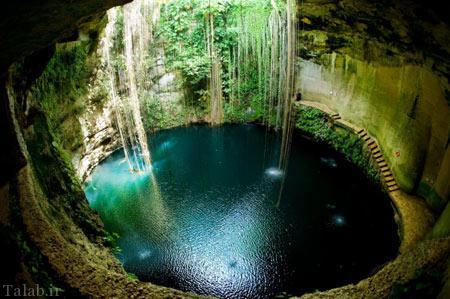 مناطق عجیب و شگفتی آور جهان