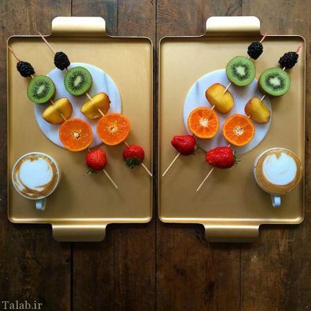 مدل های جالب از چیدمان میز صبحانه