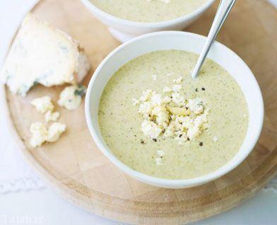 طرز تهیه سوپ گل کلم و خامه